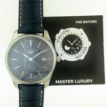浪琴 L28934920 Master Automatic Blue Dial Steel&Leather
