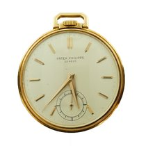 Patek Philippe Mens  Pocket Watch In 18k Yellow Gold Ref 600/2
