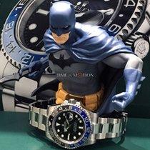 "Rolex GMT MASTER II 116710 BLNR "" Batman "" FULL SET   NEVER USED"