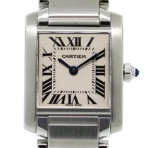 Cartier Tank Française Steel 20mm White United States of America, Florida, Boca Raton