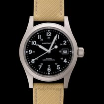 Hamilton Khaki Field Officer Steel United States of America, California, San Mateo