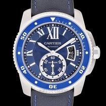Cartier Calibre de Cartier Diver Steel 42.00mm Blue United States of America, California, San Mateo