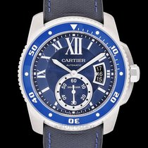 Cartier Calibre de Cartier Diver Steel 42.00mm Blue United States of America, California, San Mateo