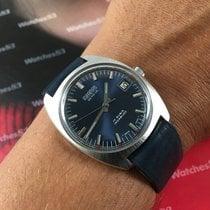 Miramar Geneve Old swiss hand wind watch N.O.S. 17 Rubis Blue...
