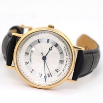 Breguet Yellow gold Automatic Silver 36mm pre-owned Classique