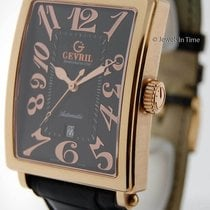 Gevril Avenue Of Americas 5101 18k Rose Gold + Winding Box