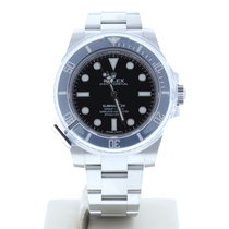 Rolex Model 114060 40mm Submariner Non Date Watch Black Dial &...
