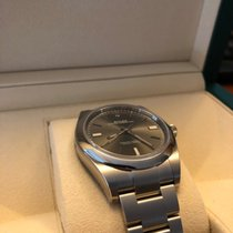 Rolex Oyster Perpetual (39mm) Rhodium Dial