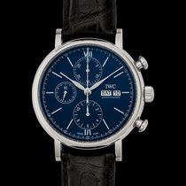 IWC Portofino Chronograph Steel United States of America, California, San Mateo