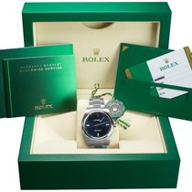 Rolex Oyster Perpetual 39 Steel 39mm Blue United States of America, New York, Massapequa Park