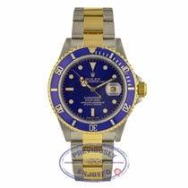 Rolex 16613 Or/Acier 1992 Submariner Date 40mm occasion