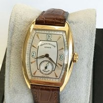 Franck Muller Rose gold Automatic Silver 28mm pre-owned Casablanca