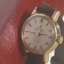 Omega Genève Gold/Steel 19mm Mother of pearl No numerals