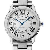 Cartier Ronde Solo de Cartier Cartier W6701011 Ronde Solo 42mm Steel Men's Watch XL 2020 nouveau