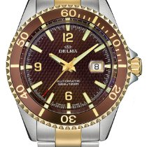 Delma Steel 43mm Automatic Santiago 52701.560.6.104 new