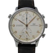 IWC Portuguese Chronograph Rose gold 41mm White Arabic numerals