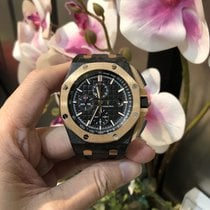 Audemars Piguet Royal Oak Offshore Chronograph Carbon 44mm Black No numerals Indonesia, Jakarta Selatan