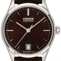 Union Glashütte Steel Automatic Brown 34mm new Viro Date
