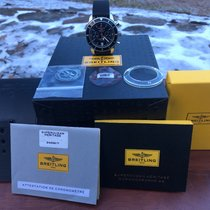 Breitling Superocean Héritage Chronograph Сталь 44mm Чёрный Без цифр