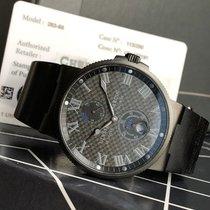 Ulysse Nardin Marine Chronometer 41mm Steel 41mm Black Roman numerals