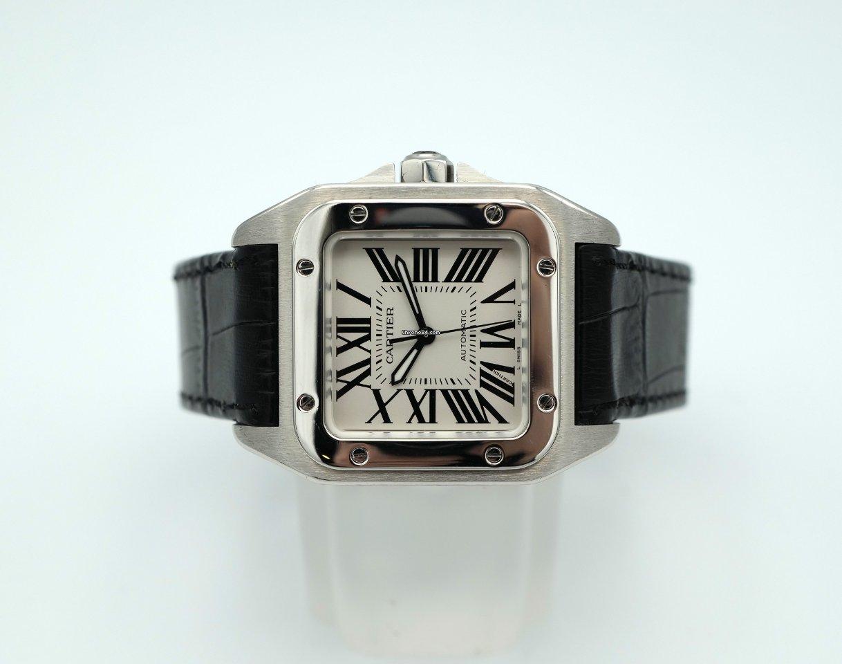 Cartier Santos 100 W20106X8 подержанные