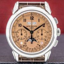 Patek Philippe Perpetual Calendar Chronograph Platinum 41mm Arabic numerals United States of America, Massachusetts, Boston