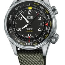 Oris Big Crown ProPilot Altimeter 01 733 7705 4134-Set 5 23 14FC новые