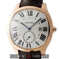 Cartier Drive de Cartier Rose gold 40mm Silver Roman numerals United States of America, New York, New York