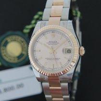 Rolex Datejust Pink Gold / Steel NEW