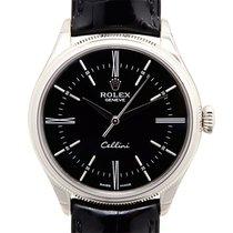 勞力士 (Rolex) Cellini Series 18k White Gold Black Automatic 50509BK