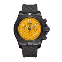 Breitling Titanium Automatic Yellow Arabic numerals 50mm new Avenger Hurricane