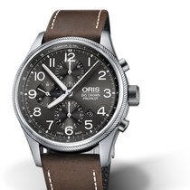 Oris Big Crown ProPilot Chronograph 01 774 7699 4063-07 5 22 05FC Oris CHRONOGRAPH Grigio Pelle new