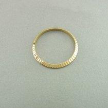 Rolex Lady Datejust Geriffelte Lünette Fluted Bezel 18 Kt Gold...