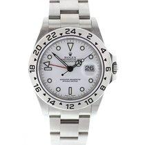 ロレックス (Rolex) Explorer II 16570 White Dial