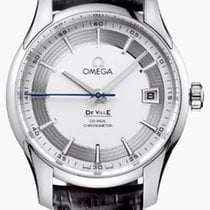 Omega De Ville Hour Vision Steel 41mm Silver No numerals United States of America, New York, New York City