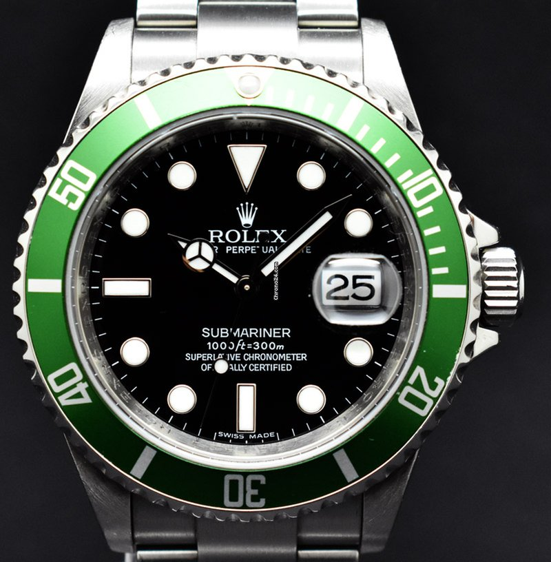 l'ultimo 81d4f 9fff5 Rolex Submariner Date LV (Never polish)