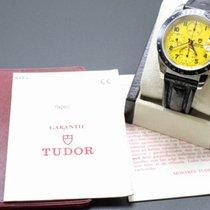 Tudor Rolex 79260  Prince Tiger Woods Chronograph Yellow Dial...