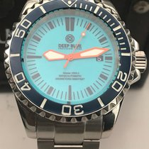 Deep Blue Smurf Master 2000 III Series Diver Limited Blue/Blue...