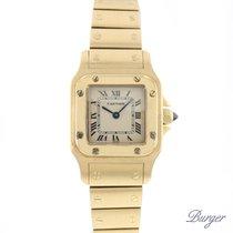 Cartier Santos Galbee PM 18K Yellow Gold