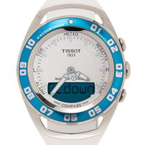 Tissot Sailing-Touch Stahl 45mm Weiß