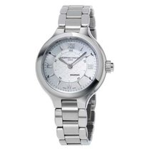 Frederique Constant Horological Smartwatch FC-281WH3ER6B Neu Stahl 34mm Quarz