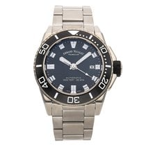 Armand Nicolet Steel 44mm Automatic A480AGN-NR-MA4480AA pre-owned