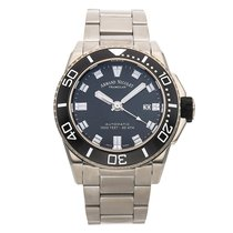 Armand Nicolet 44mm Automatic pre-owned Black
