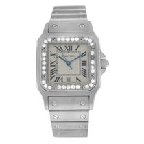 Cartier Santos Galbée Steel 24mm White Roman numerals United States of America, New York, New York