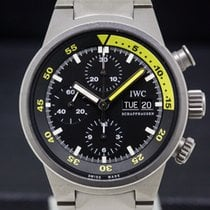 IWC Aquatimer Chronograph pre-owned 42mm Titanium