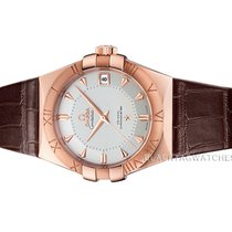 Omega Constellation Men Or rose 38mm Argent