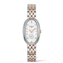 Longines Symphonette Steel 21.9mm Mother of pearl No numerals
