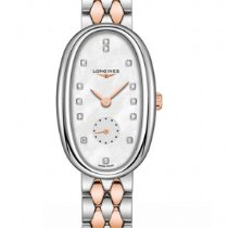 Longines Symphonette Steel 21.9mm Mother of pearl No numerals United States of America, New York, New York