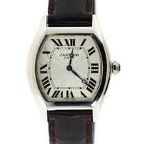 Cartier Tortue pre-owned 34mm Platinum