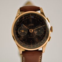 Titus Yellow gold 37mm Manual winding pre-owned
